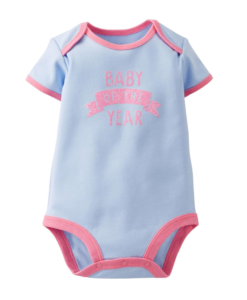 Cute Carters Baby Girls Baby Of The Year Bodysuit - Baby Girls Bodysuit